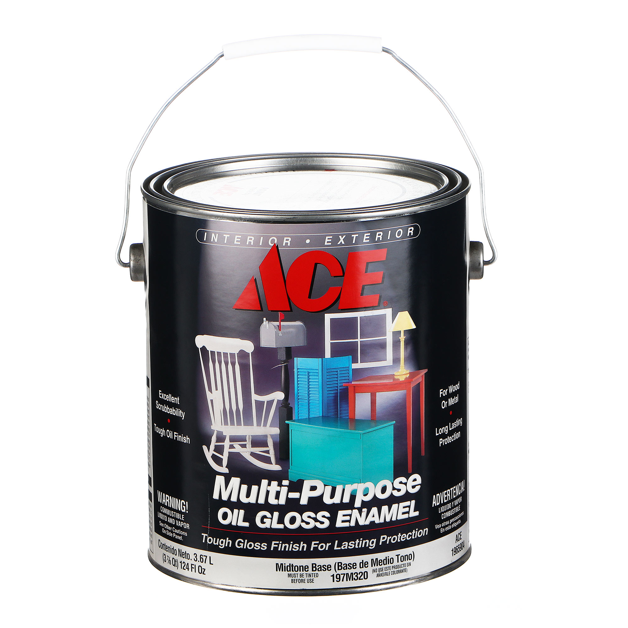 Эмаль Ace Hardware Multi-Purpose Midtone Base 3,78 л