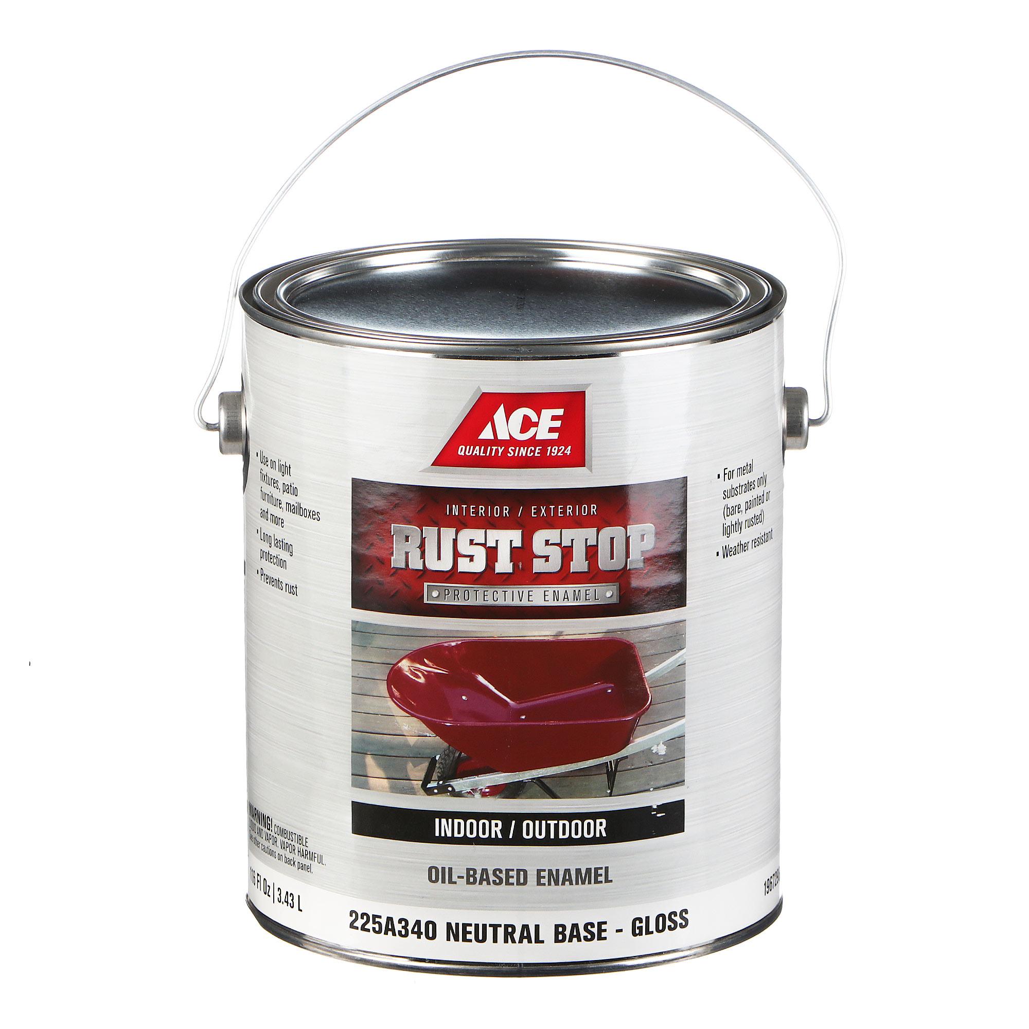 Эмаль Ace Hardware Rust Stop Neutral Base 3,78 л