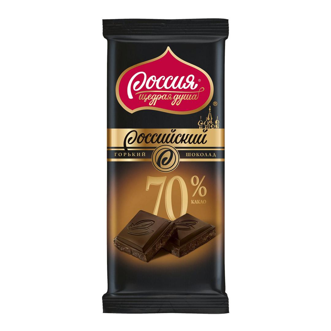 шоколад спартак горький 72% какао 90 г Шоколад Россия щедрая душа горький Российский какао 70% 90 г
