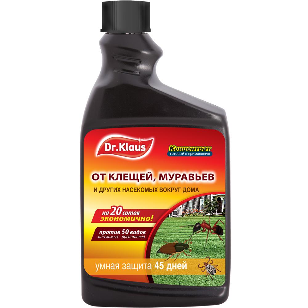 Средство Dr.Klaus от клещей, муравьев и других ползающих, запасной фл. 1 л
