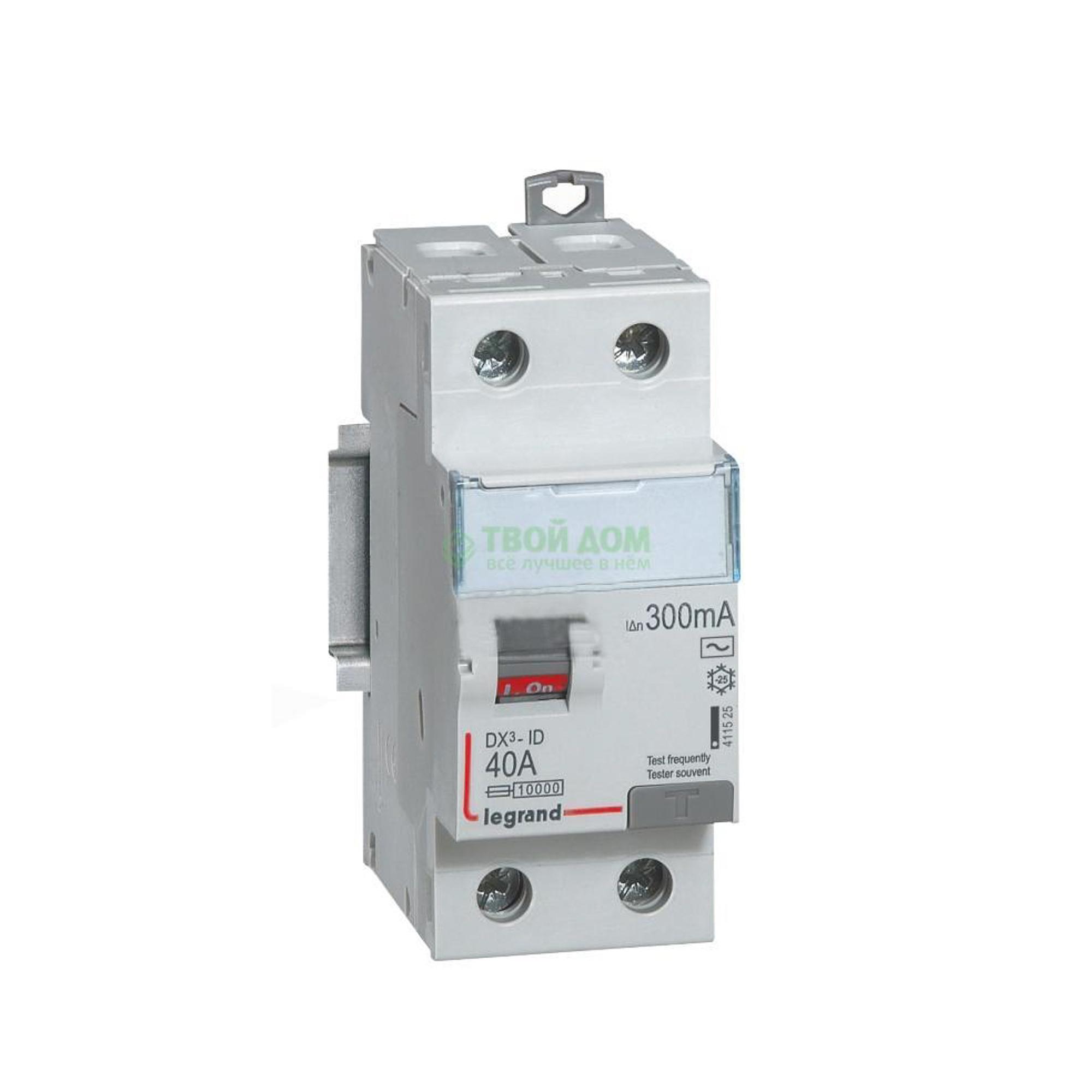 Купить Legrand Устройство защитного отключения вдт dx3 411500, автоматический выключатель, Франция