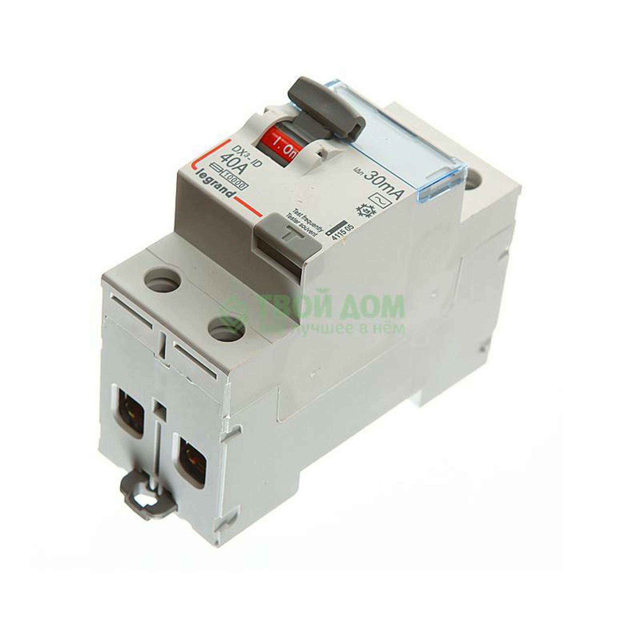 Купить Legrand Устройство защитного отключения вдт dx3 411505, автоматический выключатель, Франция