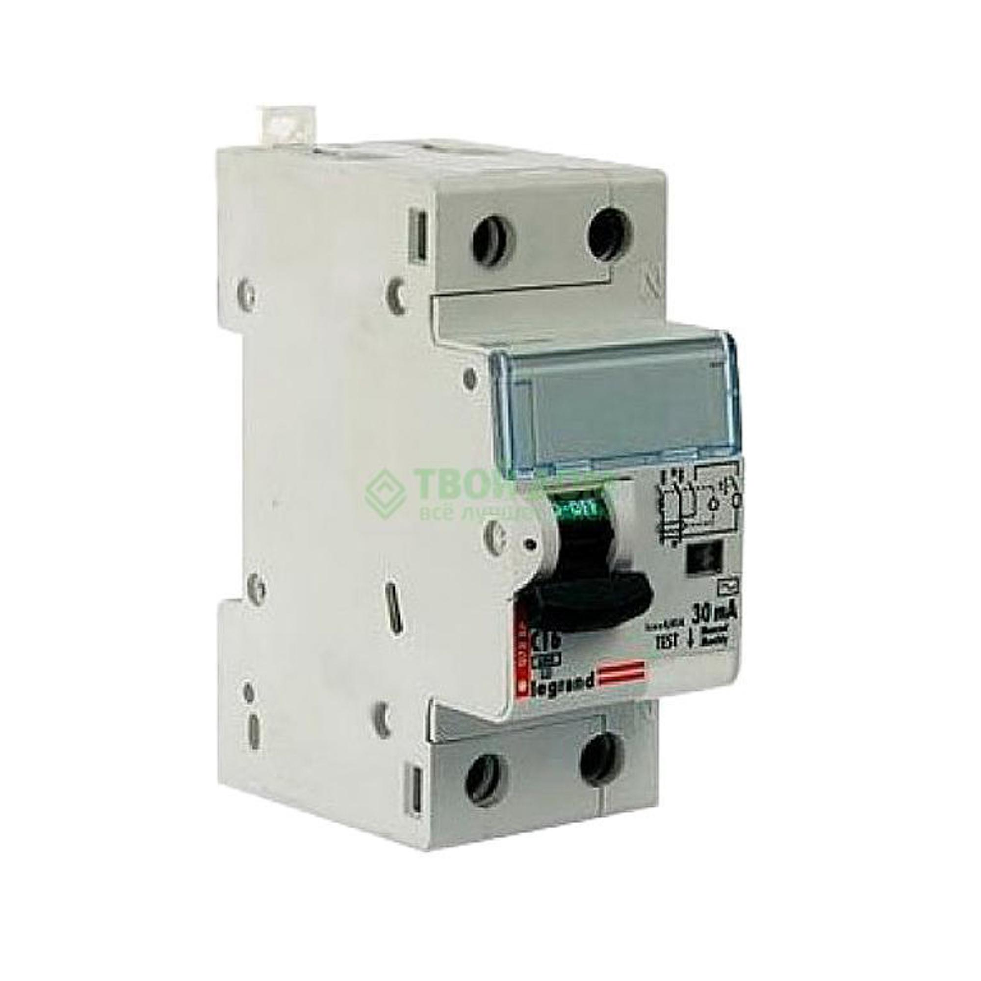 Купить Legrand Выключатель автоматический авдт dx3 1п+н 411005, автоматический выключатель, Франция
