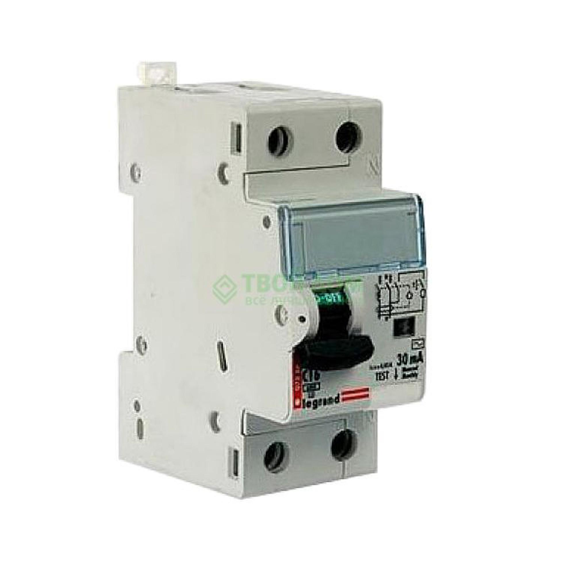 Купить Legrand Выключатель автоматический авдт dx3 1п+н 411006, автоматический выключатель, Франция
