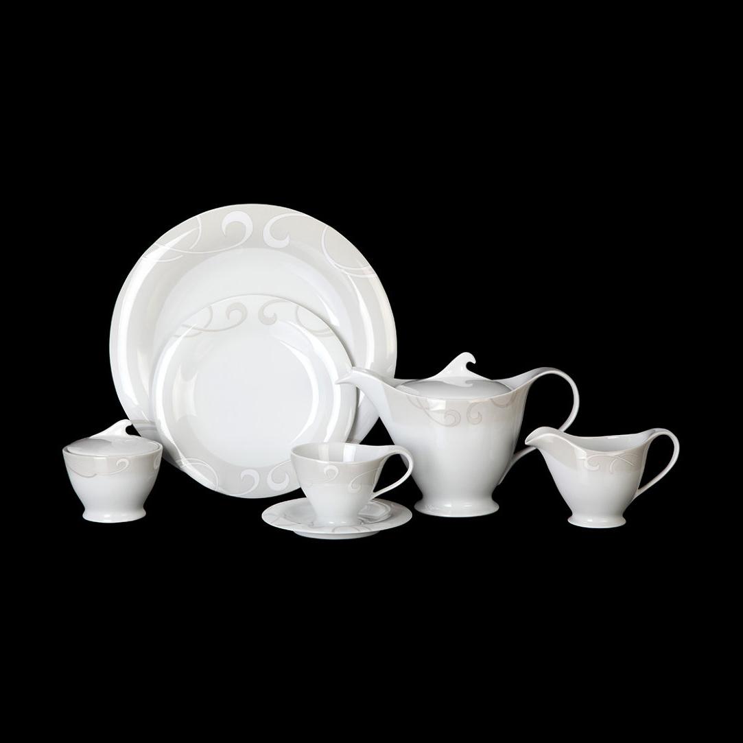 Чайный сервиз Tirschenreuth Колин 6 персон 16 предметов набор салатников tirschenreuth из 6 предметов колин