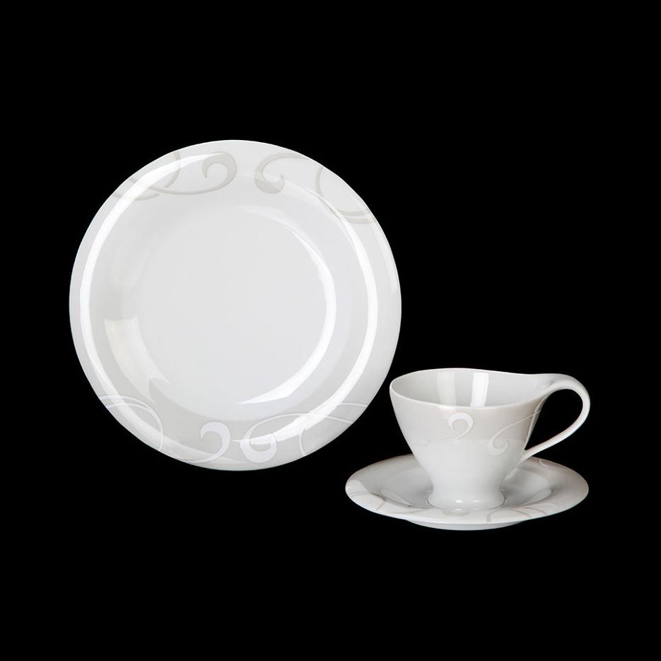 Чайный набор Tirschenreuth Колин 6 персон 12 предметов фото
