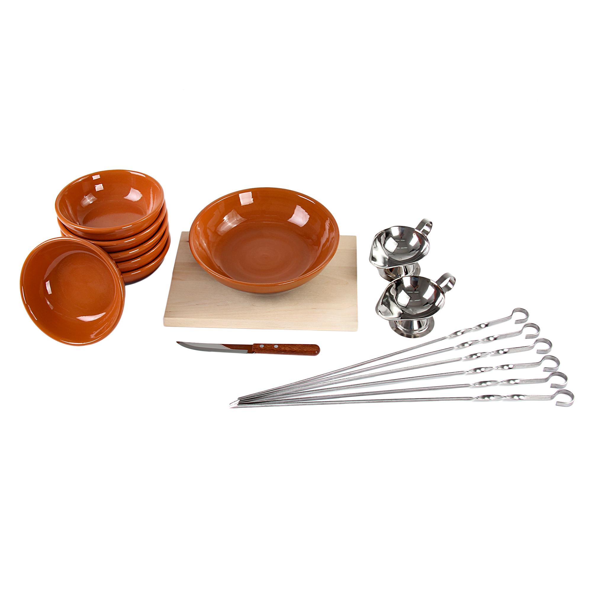 Фото - Набор салатников пикник-5 Вятская керамика набор керамических горшков 3 предмета вятская керамика нбр вк 1 3