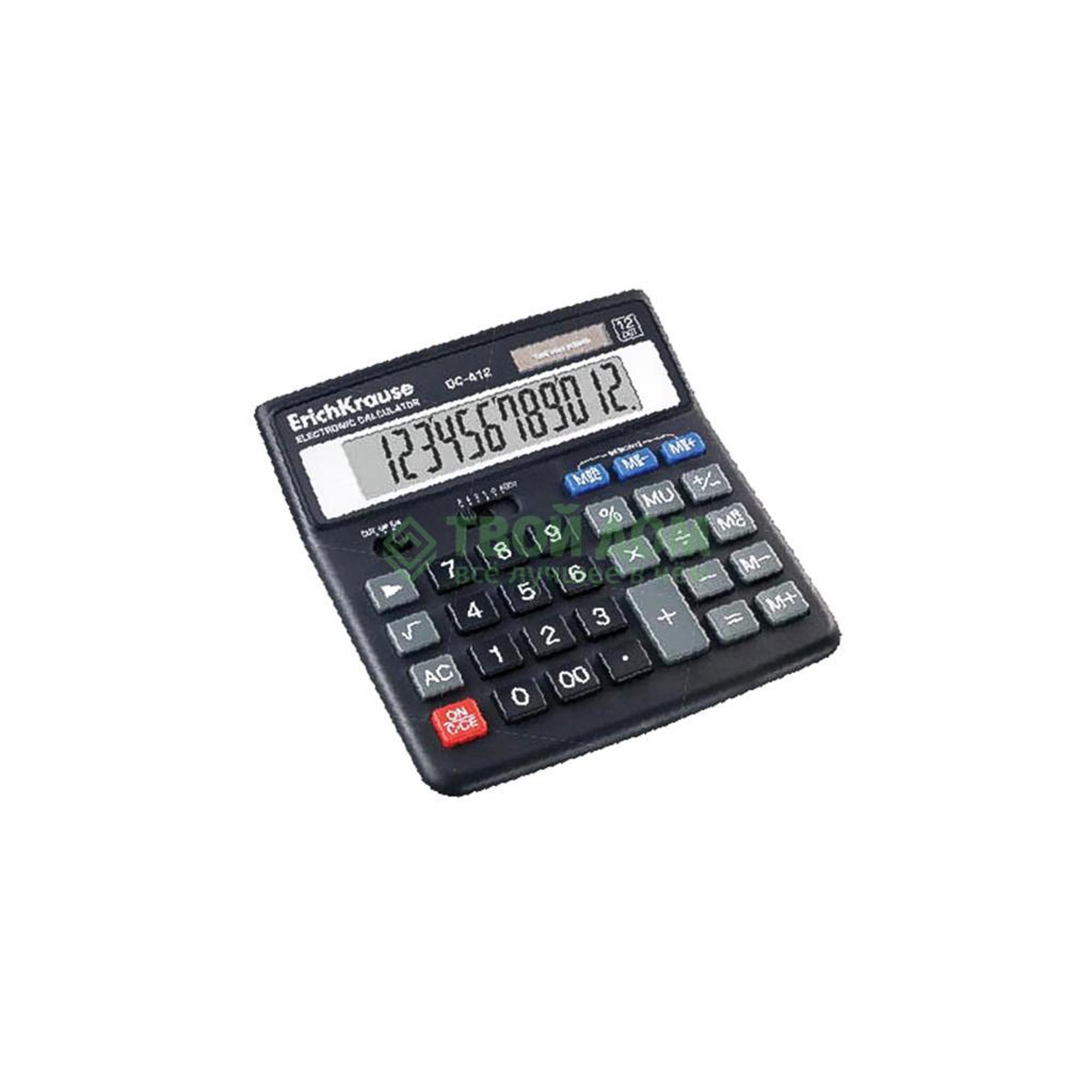 Калькулятор Erich Krause 40412 фото