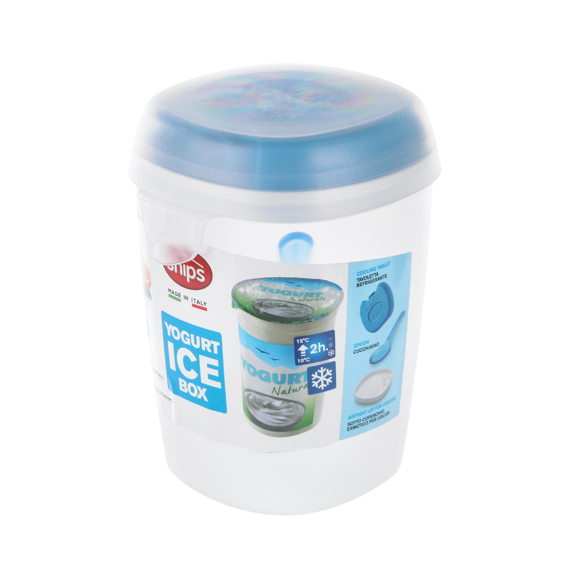 Фото - Контейнер для йогурта Snips с ложкой 500 мл пароварка snips 4 л