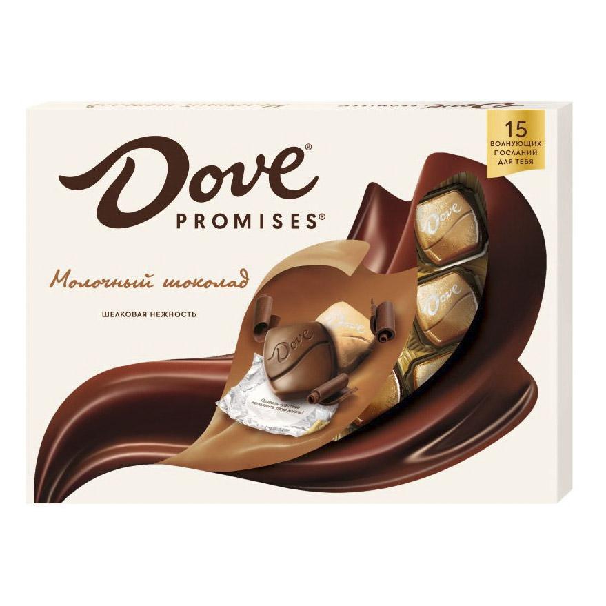 шоколад dove молочный миндально апельсиновый грильяж 90 г Шоколад Dove Promises Молочный 120 г