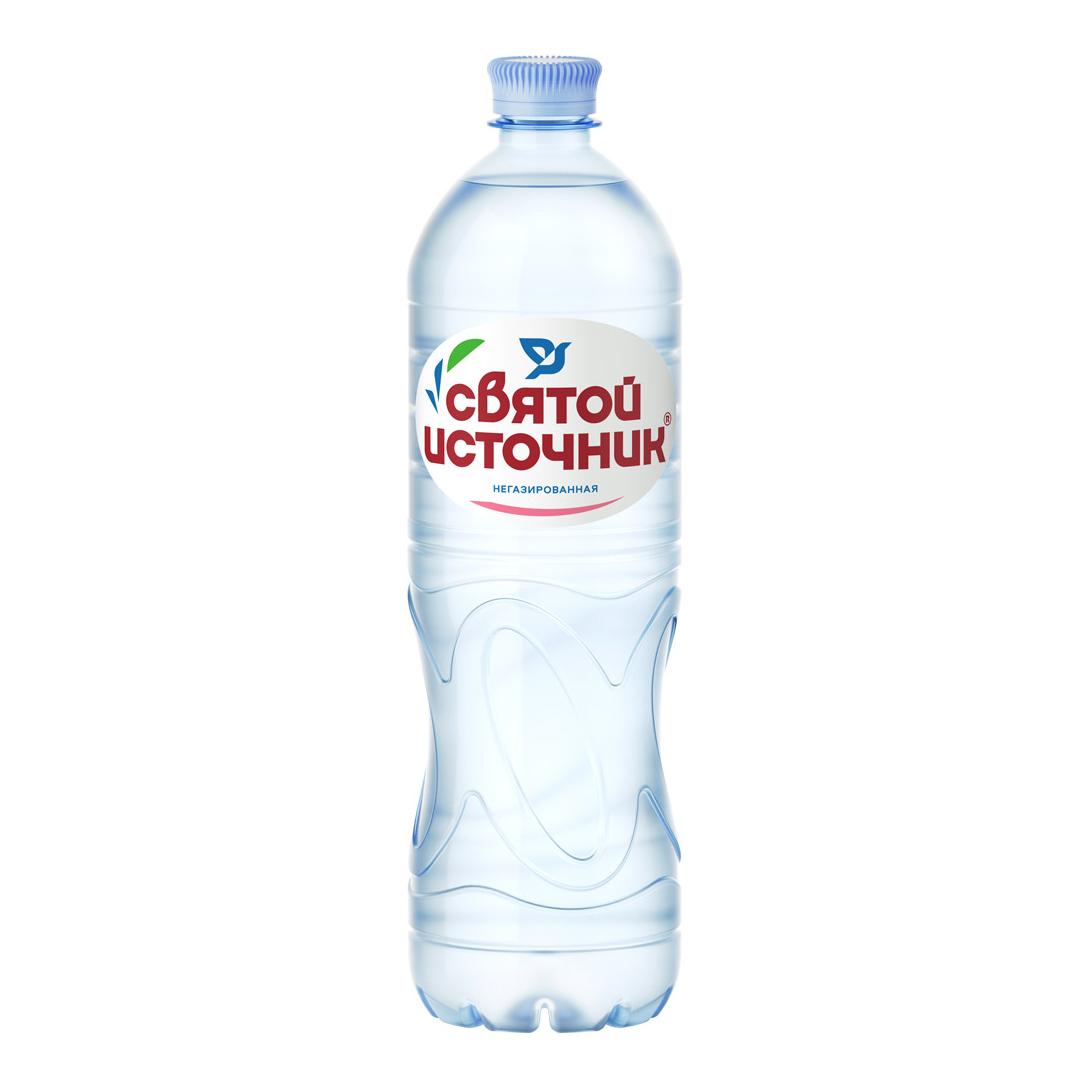 Вода питьевая Святой Источник негазированная 1 л.