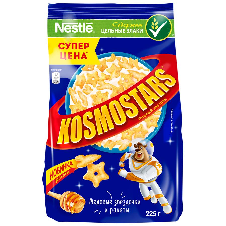 Готовый завтрак Nestle Kosmostars медовые звездочки и луны 225 г недорого