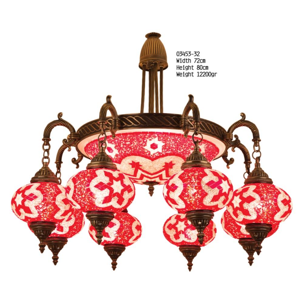 Люстра Exotic Selection 03453-32 красная