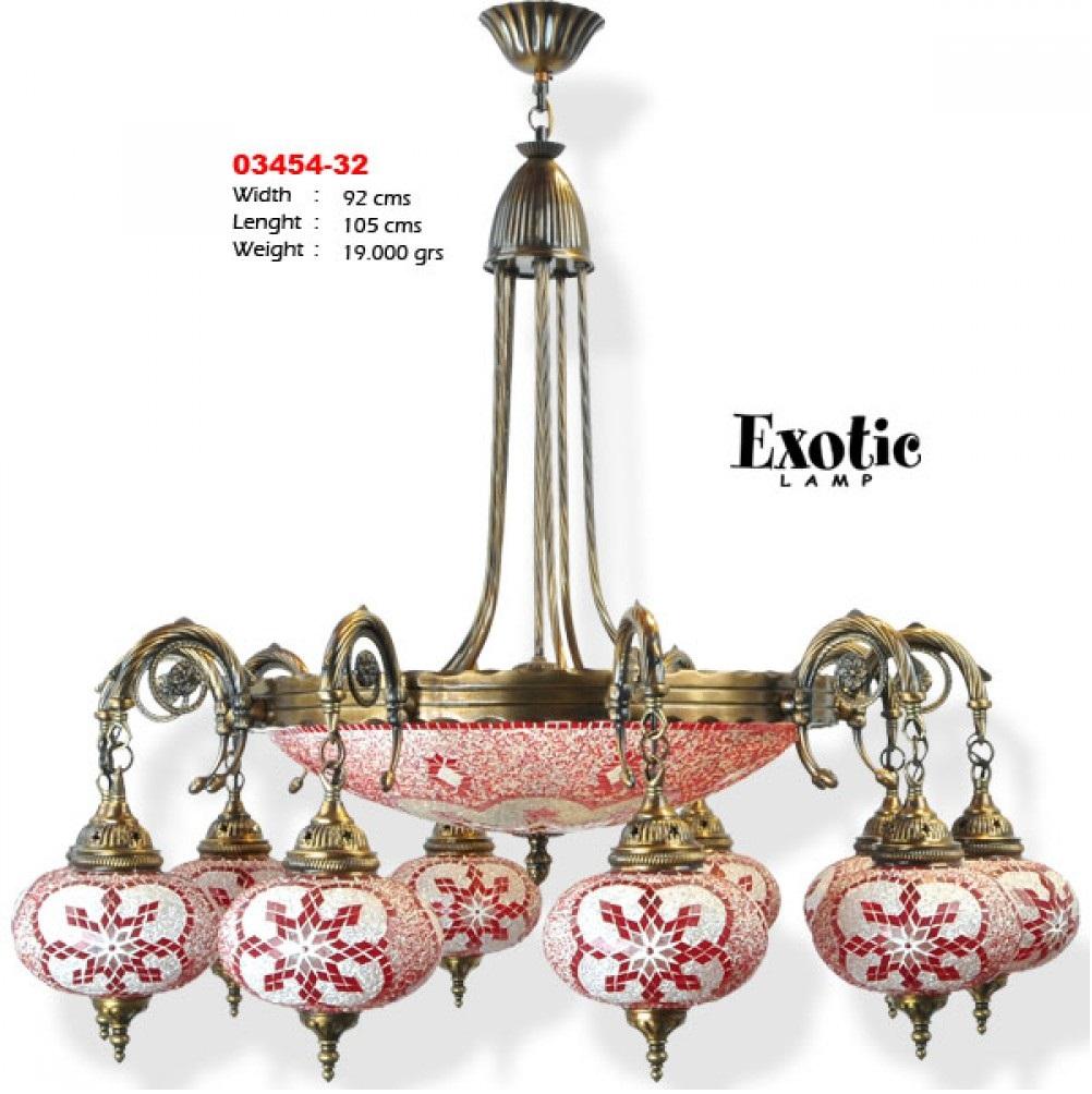 Люстра Exotic Selection 03453-39 красная