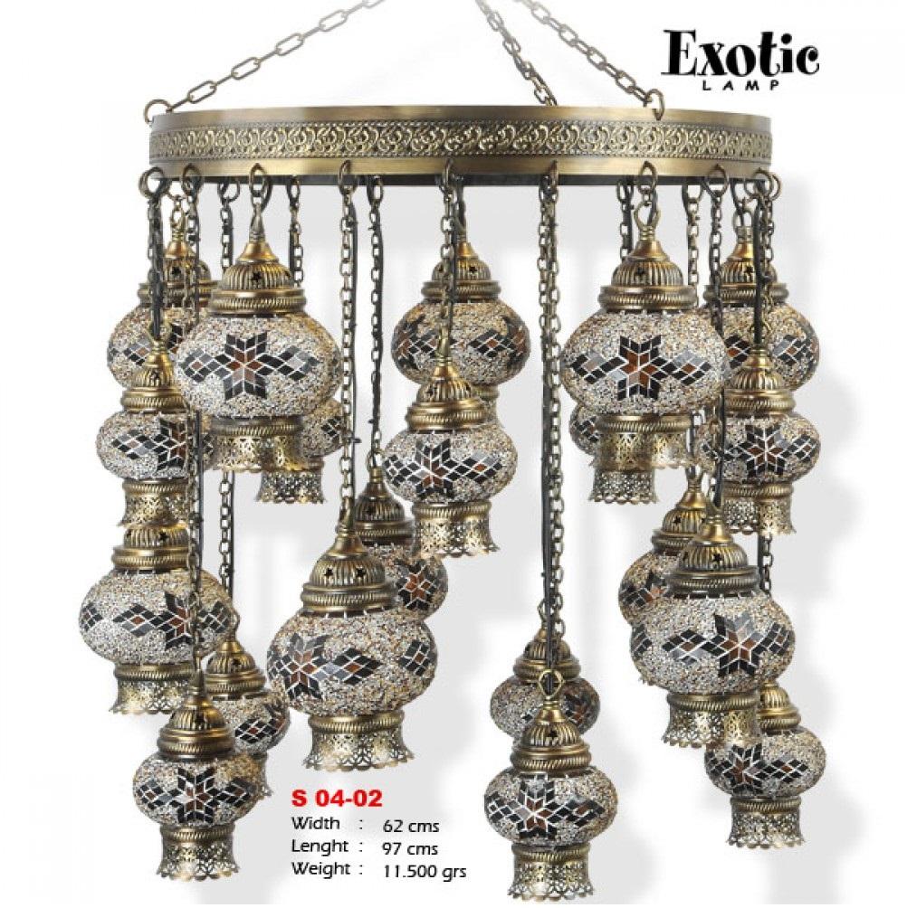 Люстра Exotic Selection S 04-02 бежевый