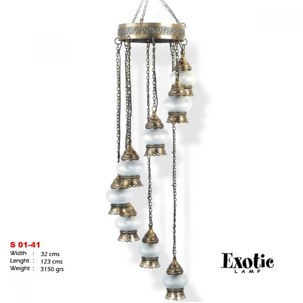 Люстра Exotic Selection S 01-41 опал