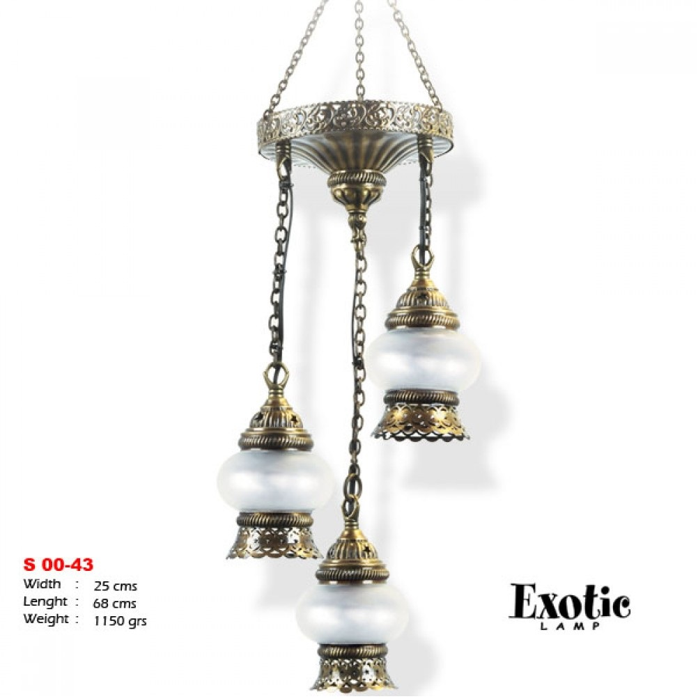 Люстра Exotic Selection S 00-43 опал