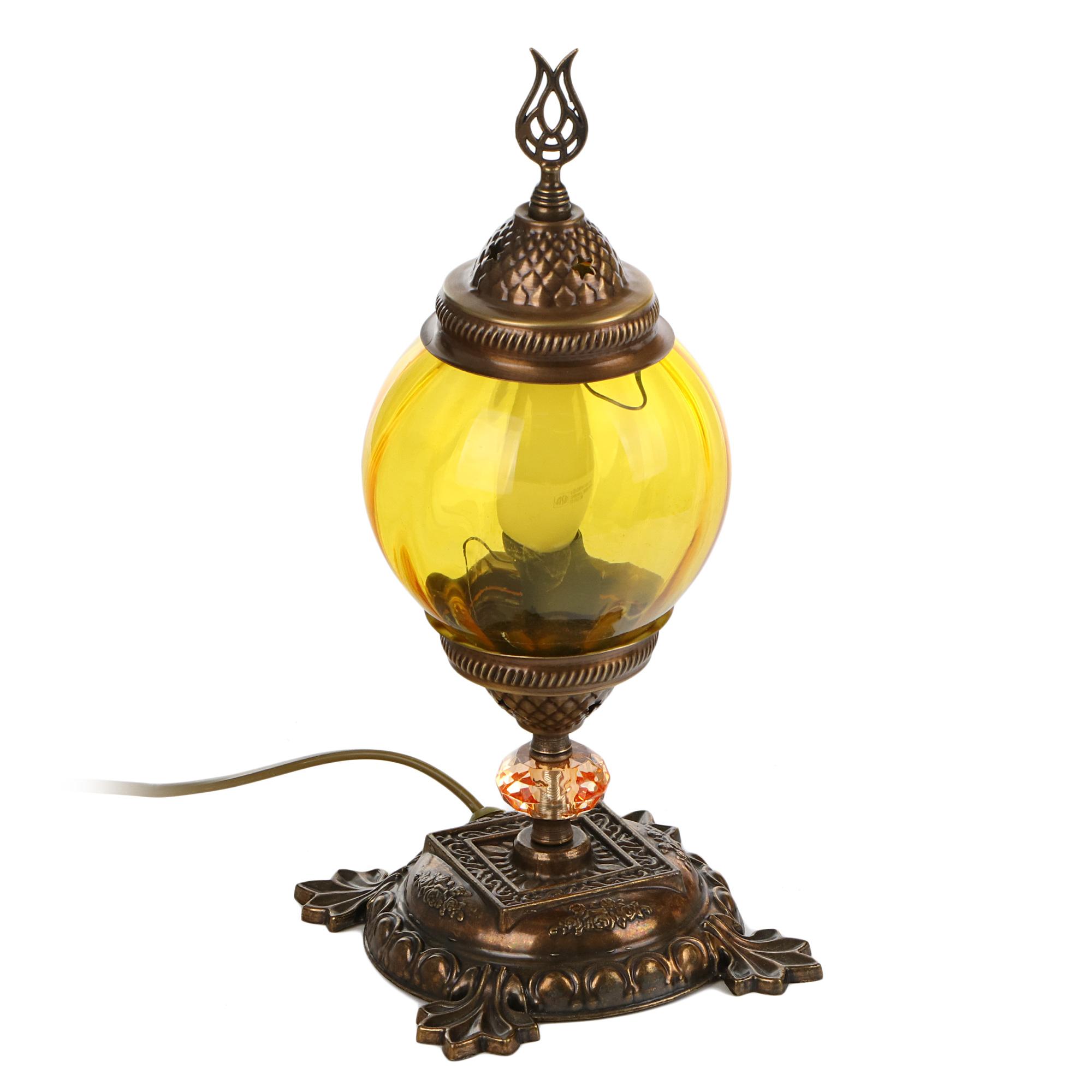 Лампа настольная Exotic мозайка бежевая