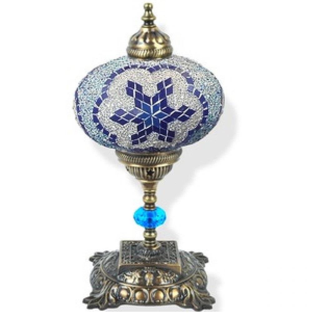 Лампа настольная Exotic мозайка 02532 синяя
