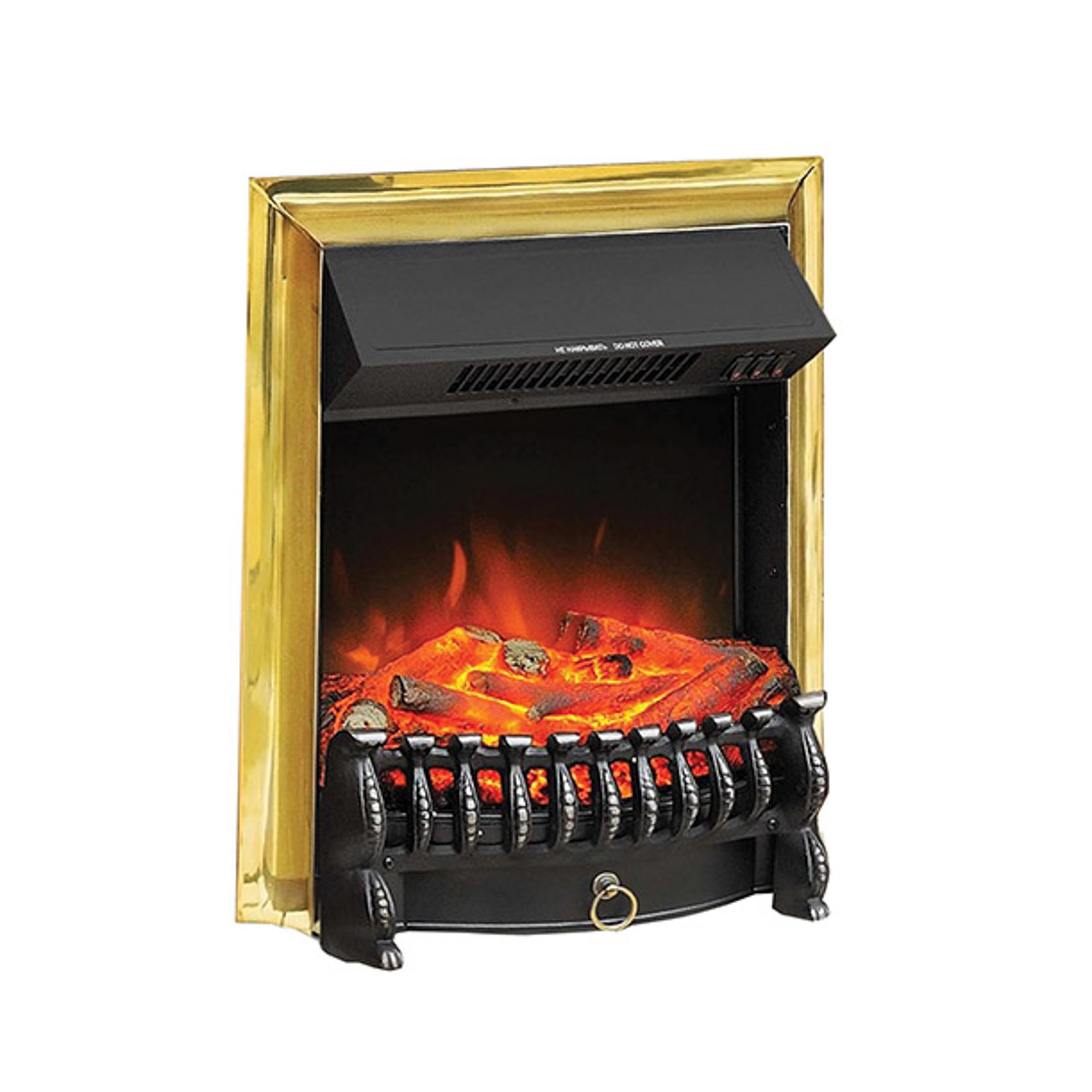 royal Очаг электрический Royal Flame Royal Fobos brass
