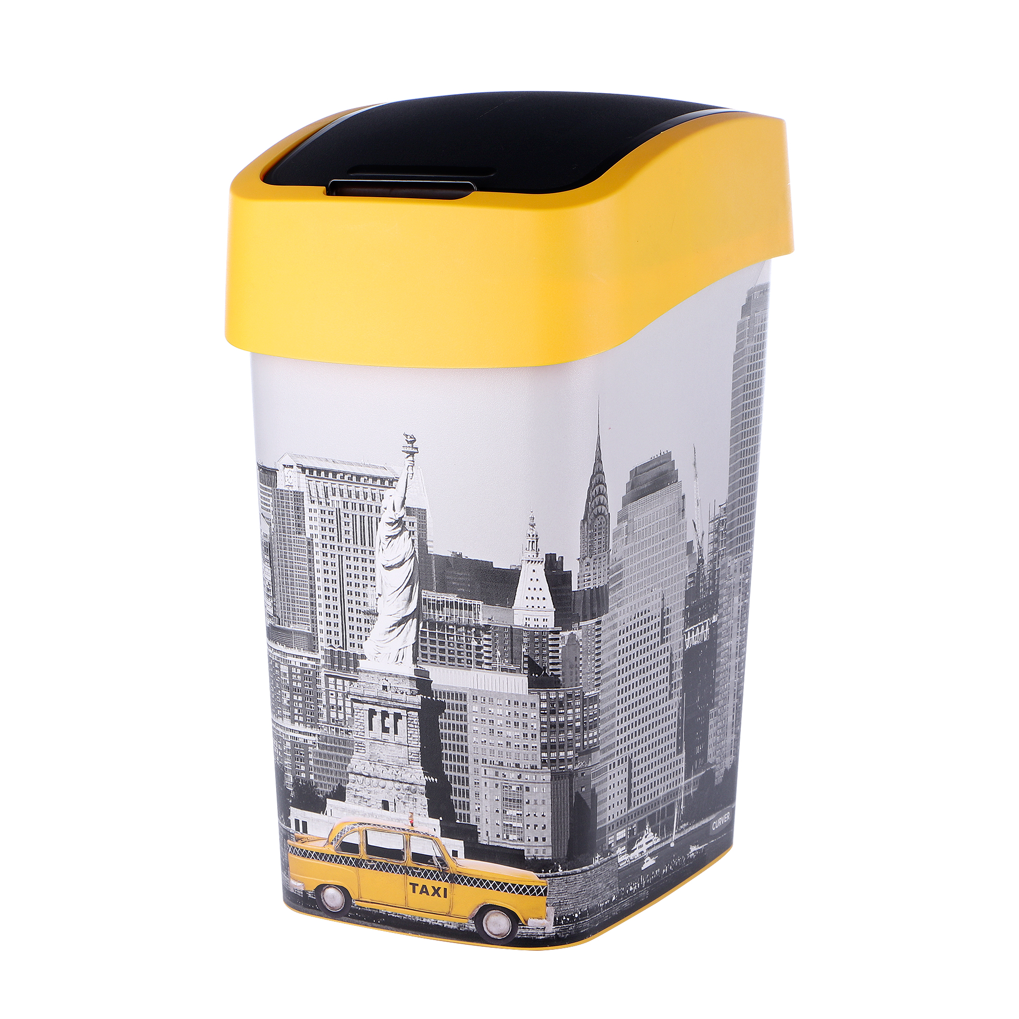 Контейнер для мусора Curver flip bin 25л New York