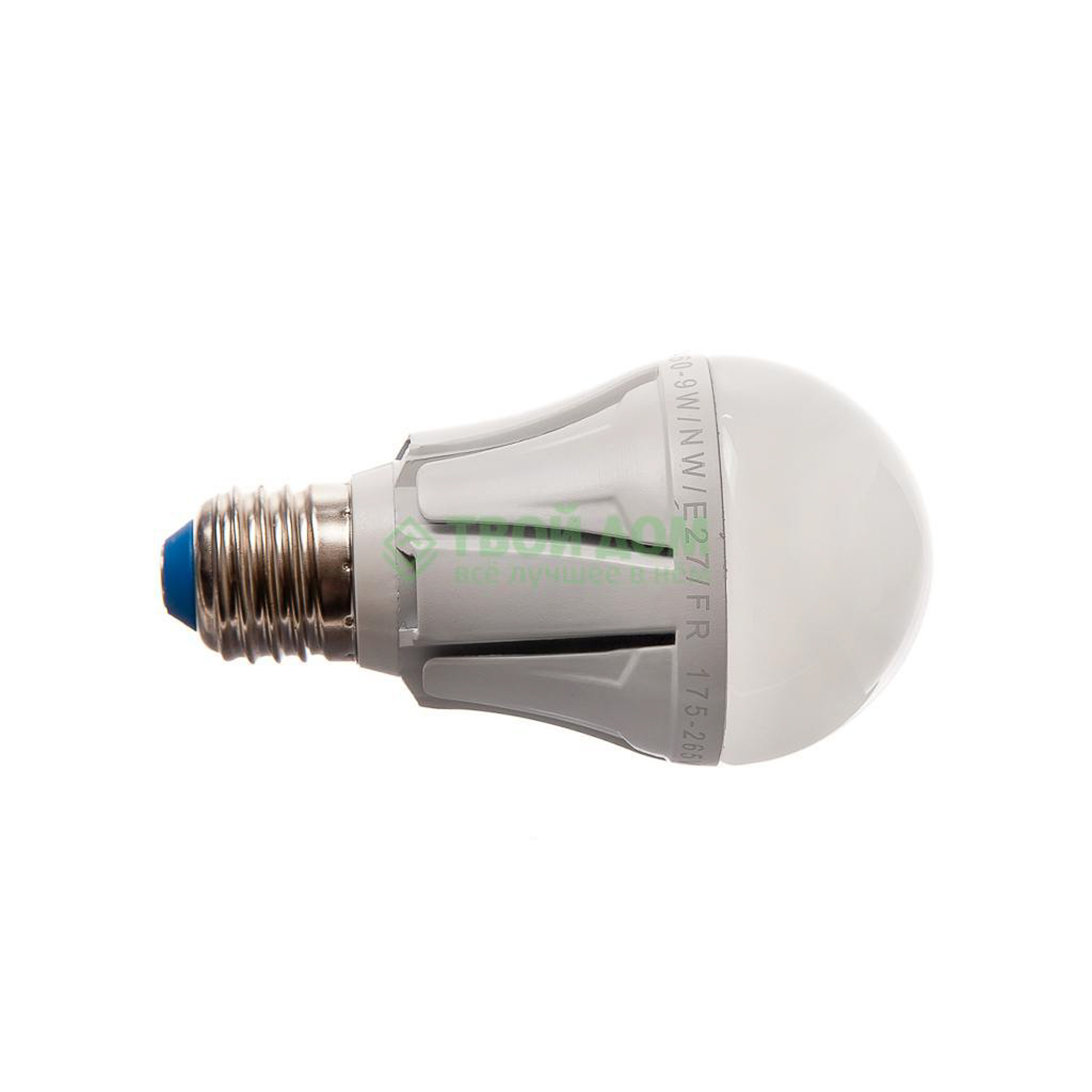 Фото - Лампочка Uniel LED-A60-9W/NW/E27/FR ALP01WH лампочка uniel led a60 9w nw e27 fr alm