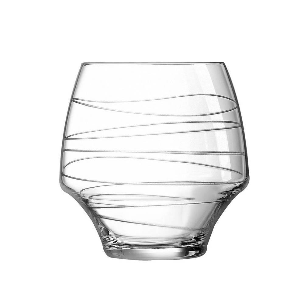 Набор стаканов C&S из 4 фужеров Open up arabesque