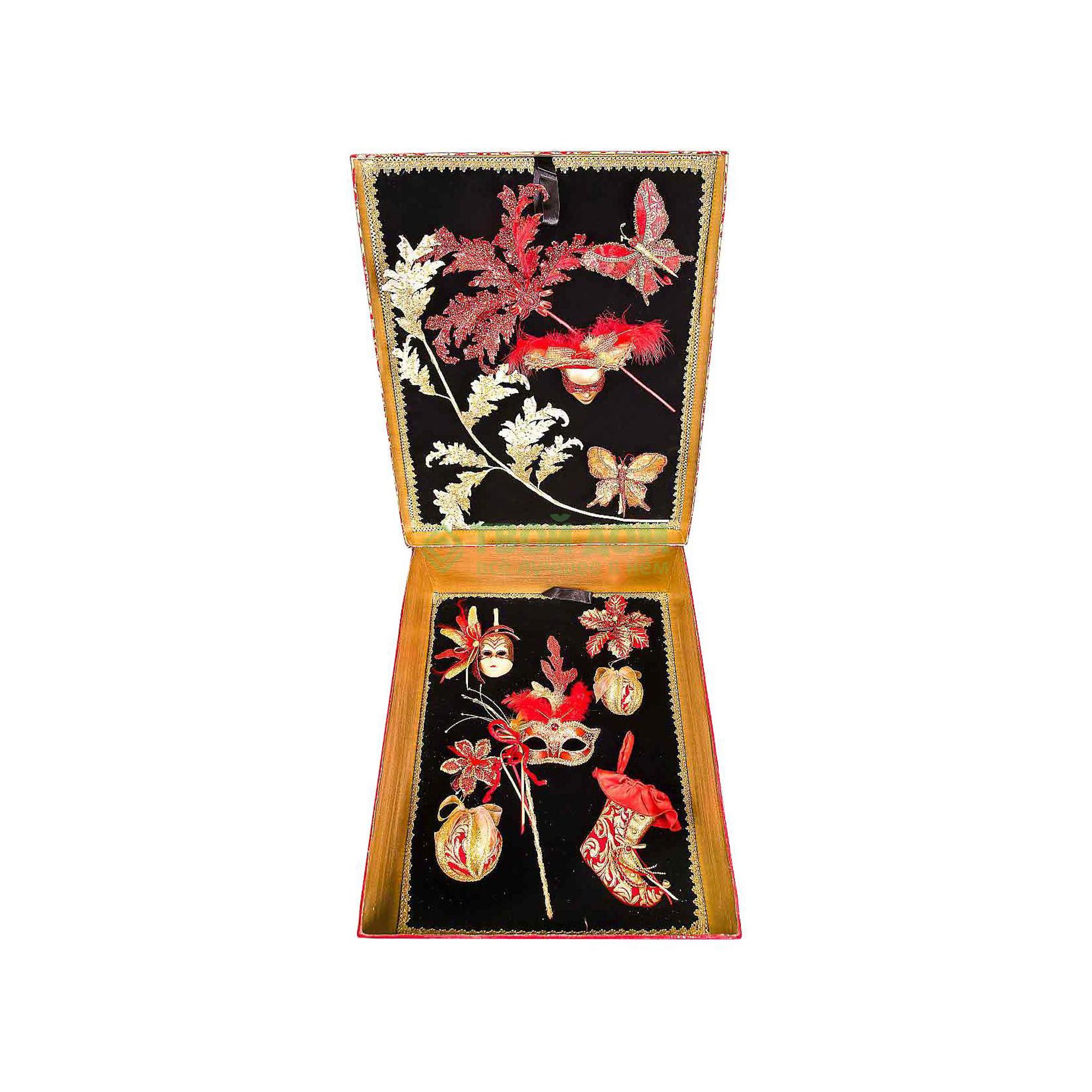 Набор фигурок Mister Christmas Набор коллекционных украшений (цвет: красный, золотой) SR-SET-B1 (SR-SET-B1)