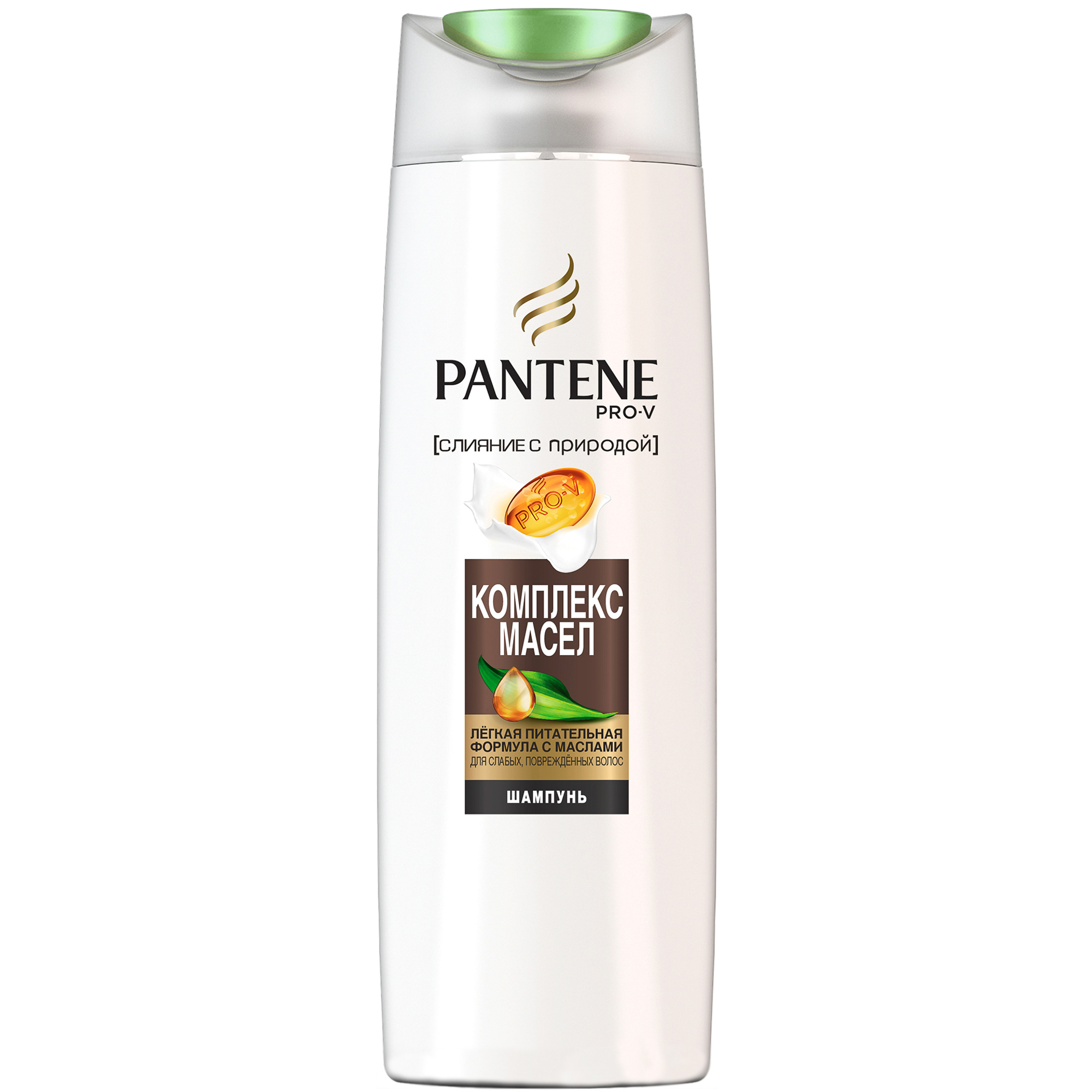 Шампунь Pantene Pro-V Слияние с природой Oil Therapy 400 мл