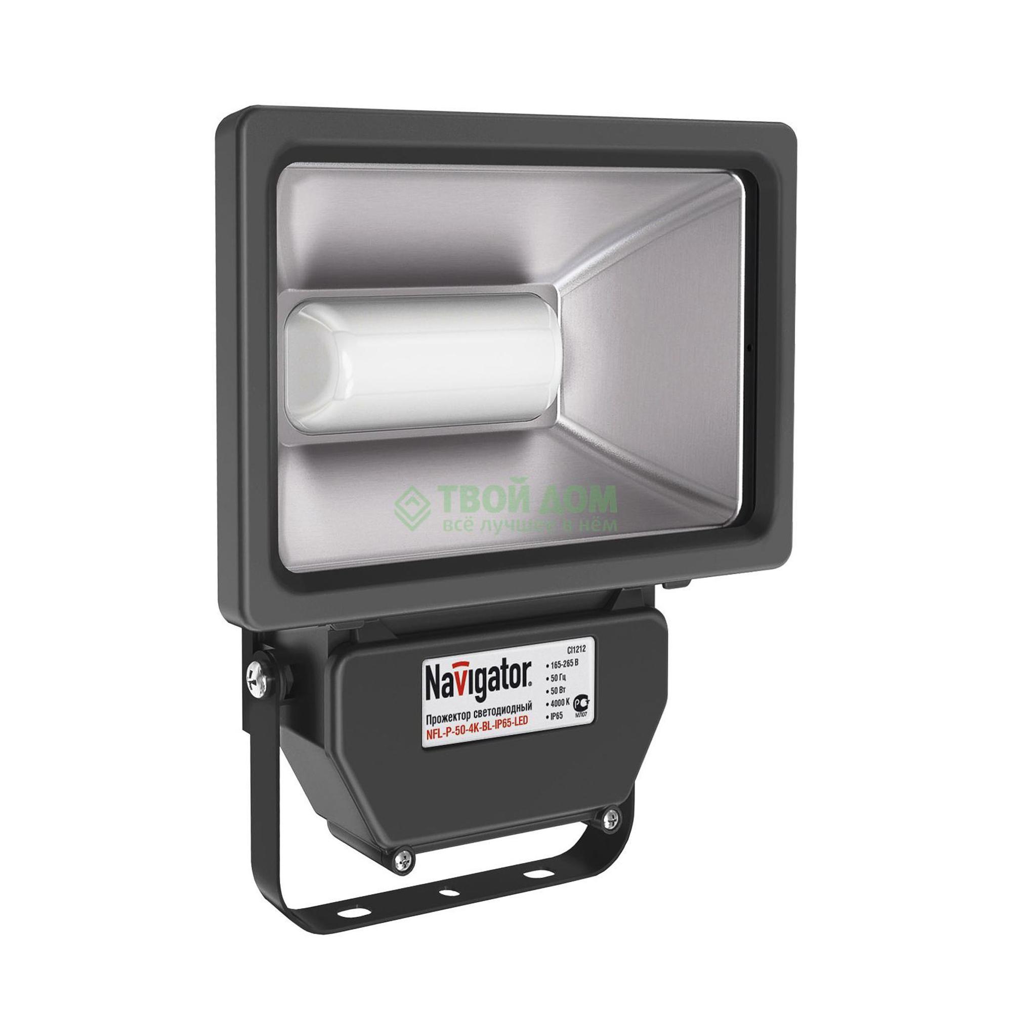 Прожектор Navigator led nfl-p-50-4k-bl-i фото