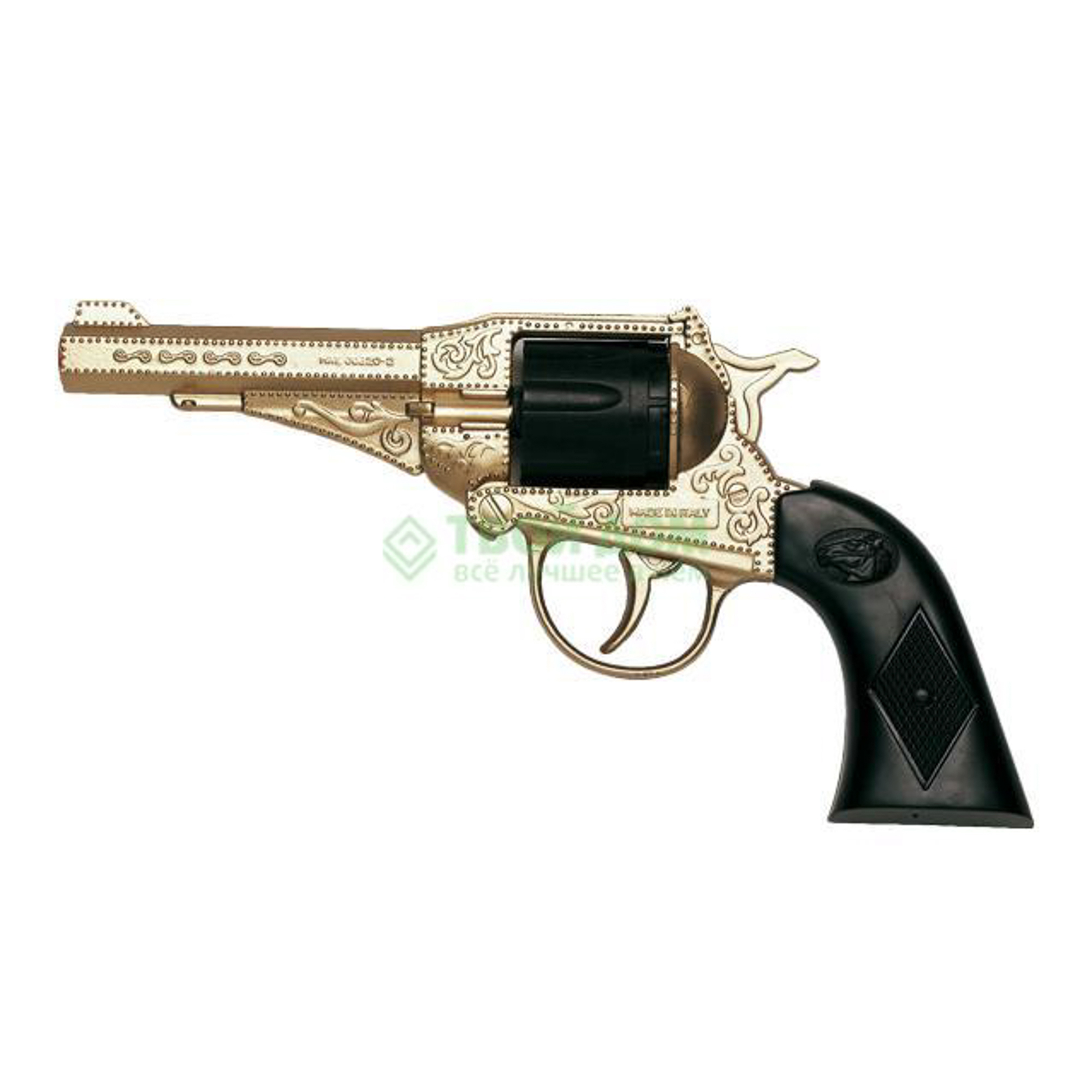 Пистолет Edison sterling metall-gold western (0220/56)