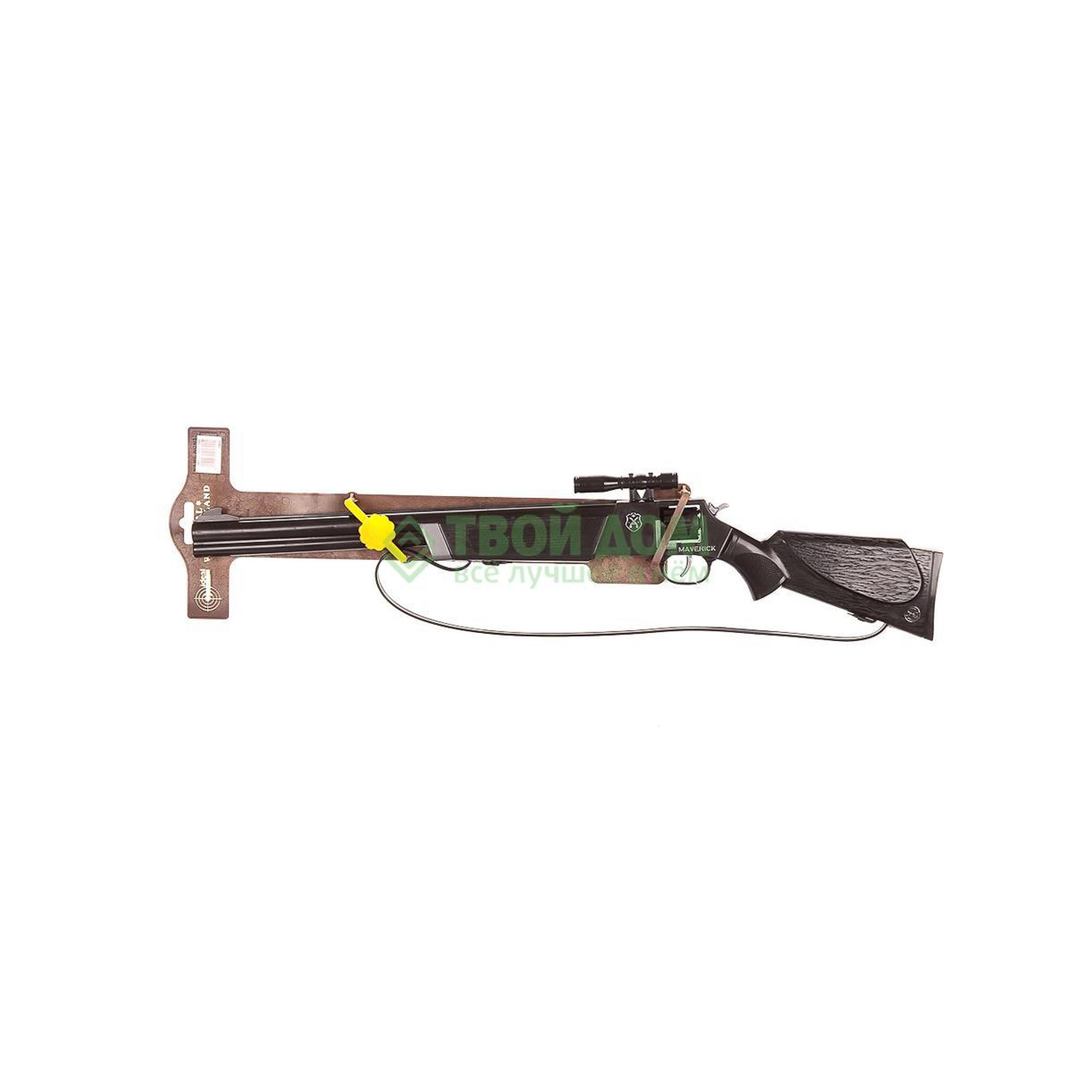 Купить Ружье Schrodel Ружье maverick 60см 8-shot, Испания, черный, темно-коричневый, металл, пластик, Оружие