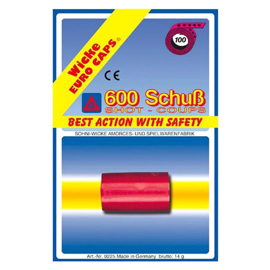 Пистоны Sohni-Wicke 100-зарядные 600 шт