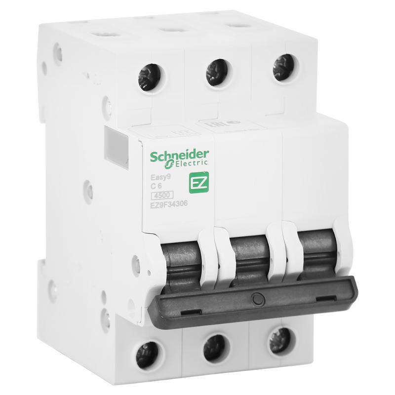 Выключатель автоматический Schneider Electric Easy 9 6 А