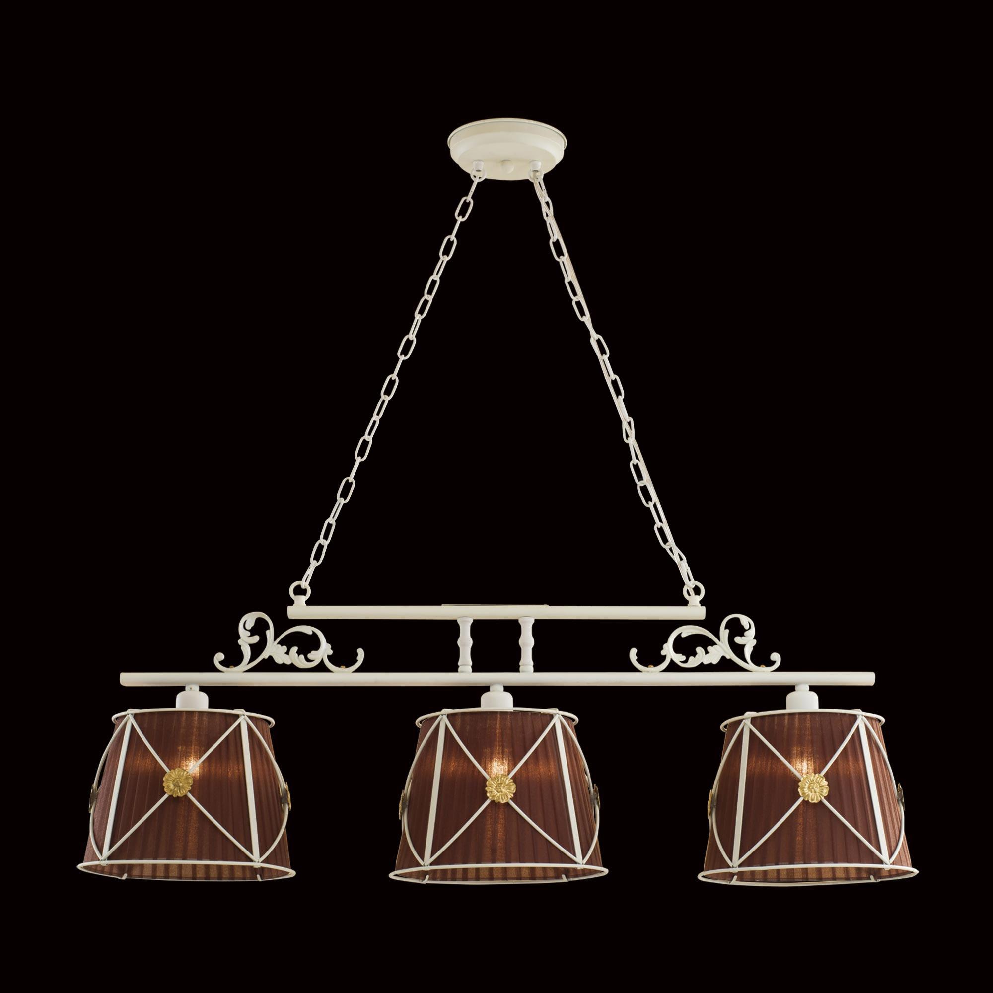 Подвесной светильник Citilux Дрезден белый шоколадный CL409236