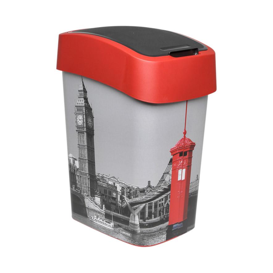 Контейнер для мусора Curver Контейнер для мусора flip bin 25л london (02171-L11-03)