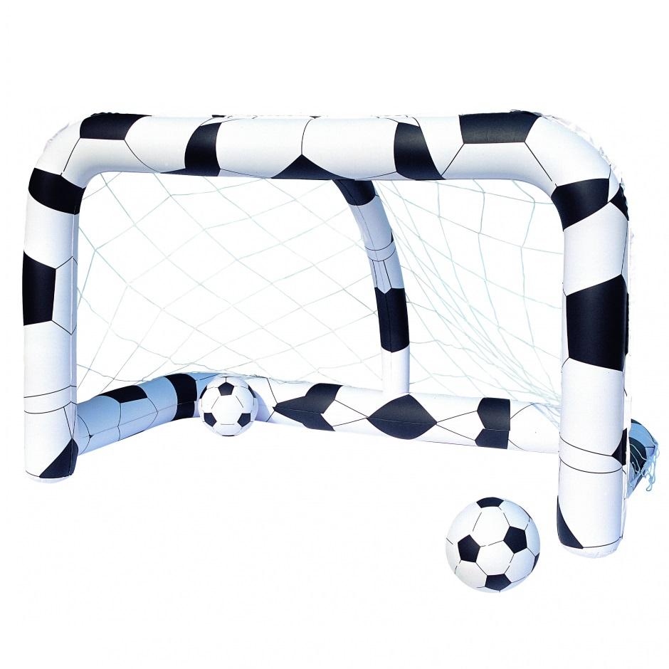 Набор футбольный Bestway: надувные ворота,два мяча