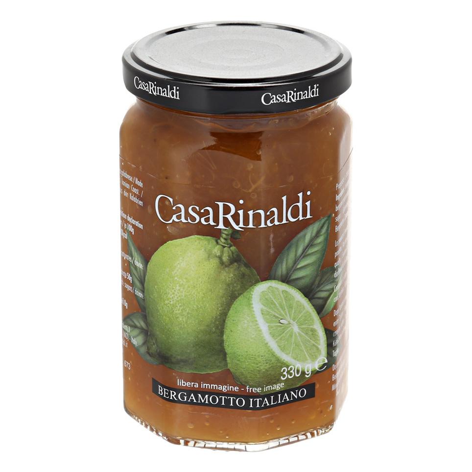 Конфитюр Casa Rinaldi из Бергамота 330 г casa rinaldi нуга торроне limoncello 100 г