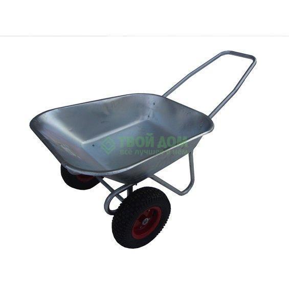 Купить Тачка садовая Инструм-Агро wb6211-2в, тачка, Россия, серебристый