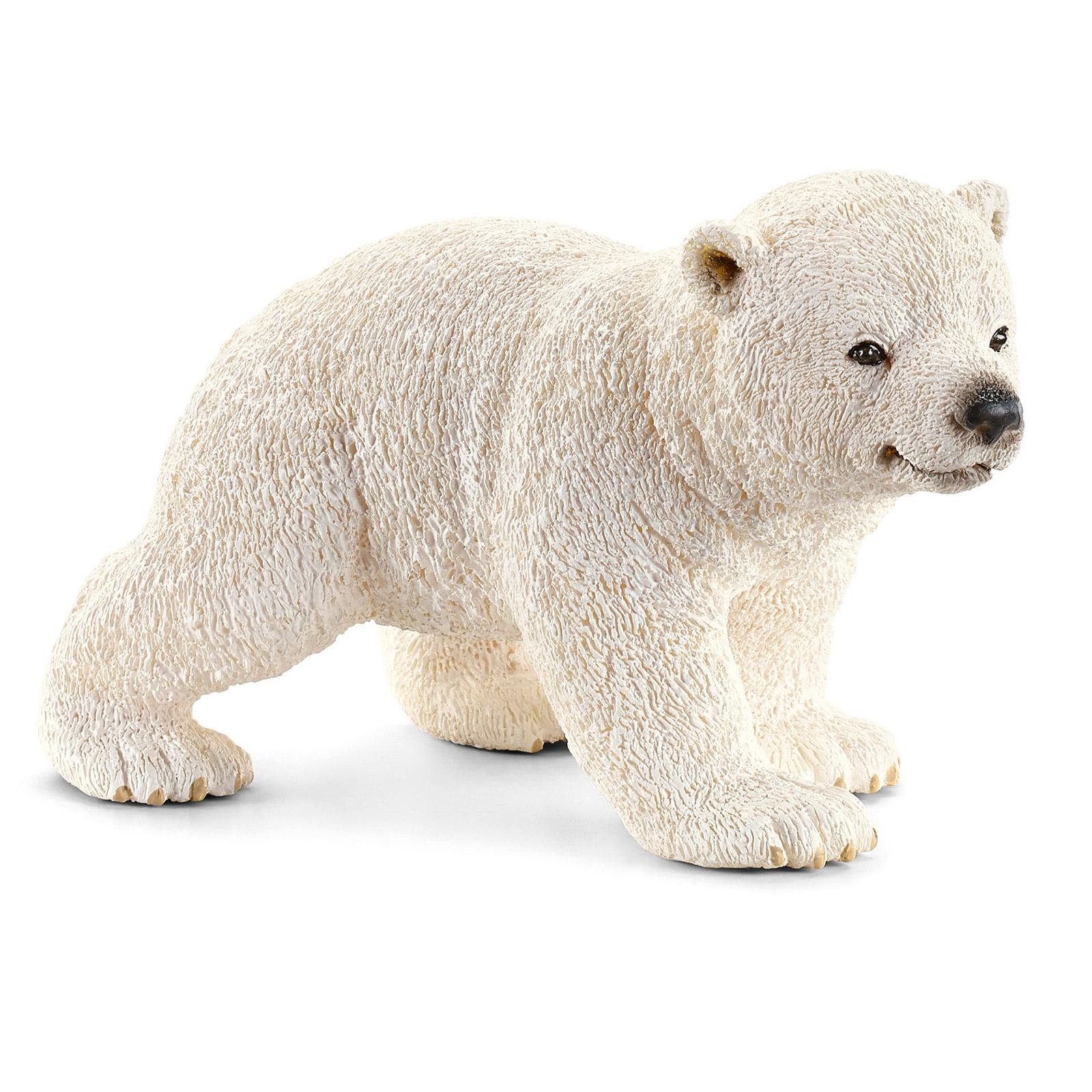 Фото - Фигурка Schleich Белый медвежонок 14708 фигурка lefard медвежонок 476 134 белый