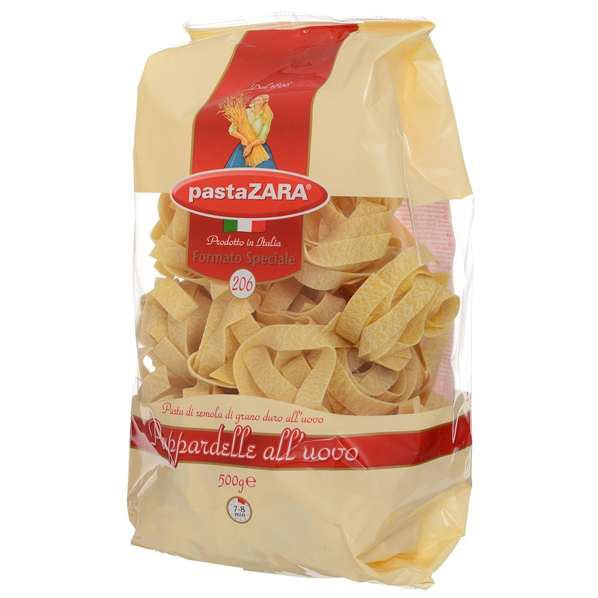 Макаронные изделия Pasta Zara №206 Fettuccine 500 г