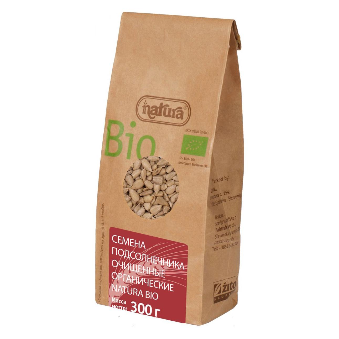 Семена подсолнечника очищенные Zito Natura Bio 300 г
