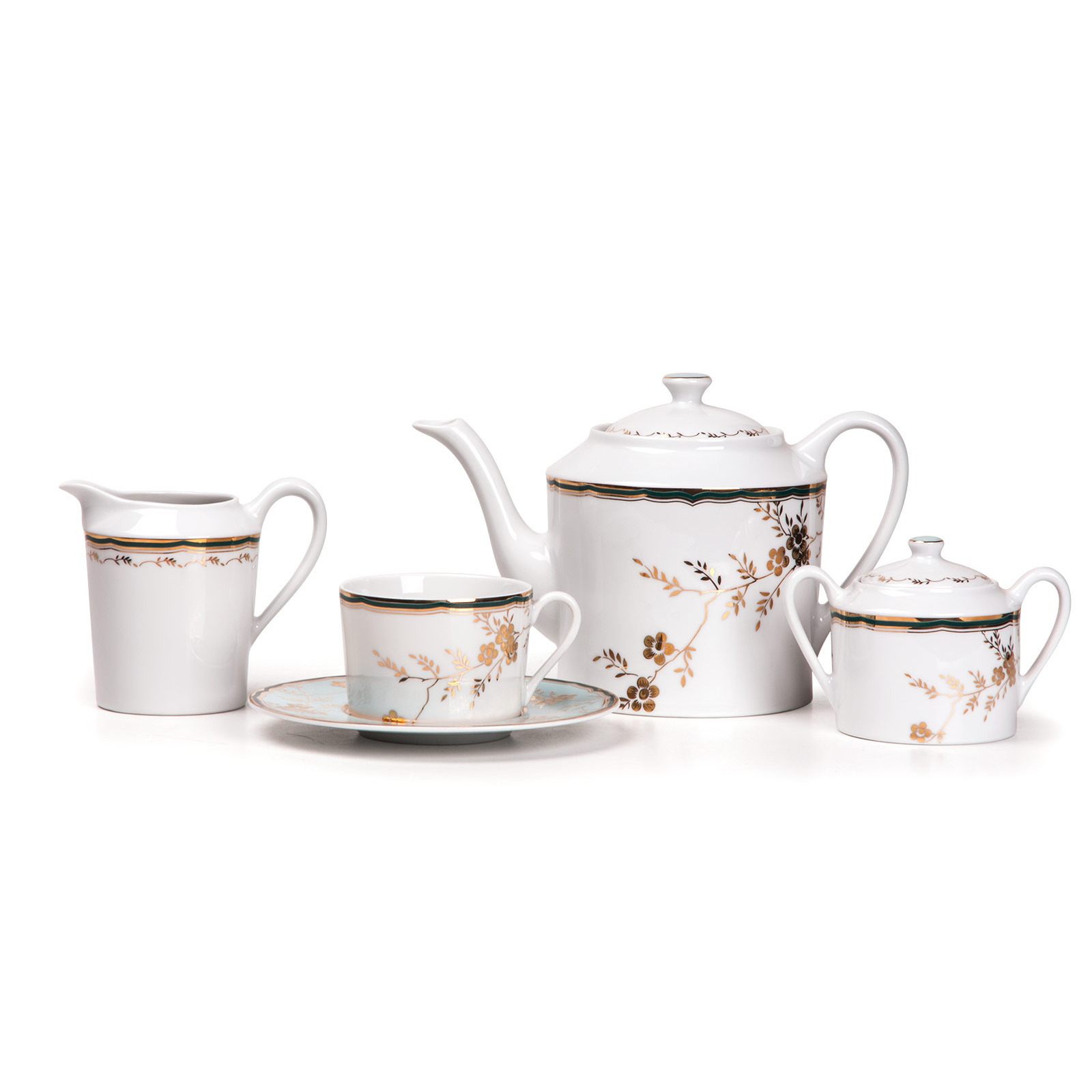 Сервиз чайный Yves de la rosiere Zen 15 предметов фото