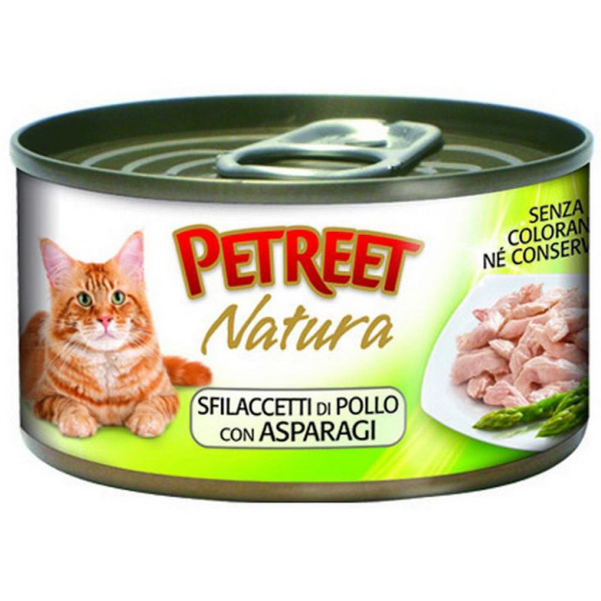 Корм для кошек PETREET Куриная грудка, спаржа 70г фото