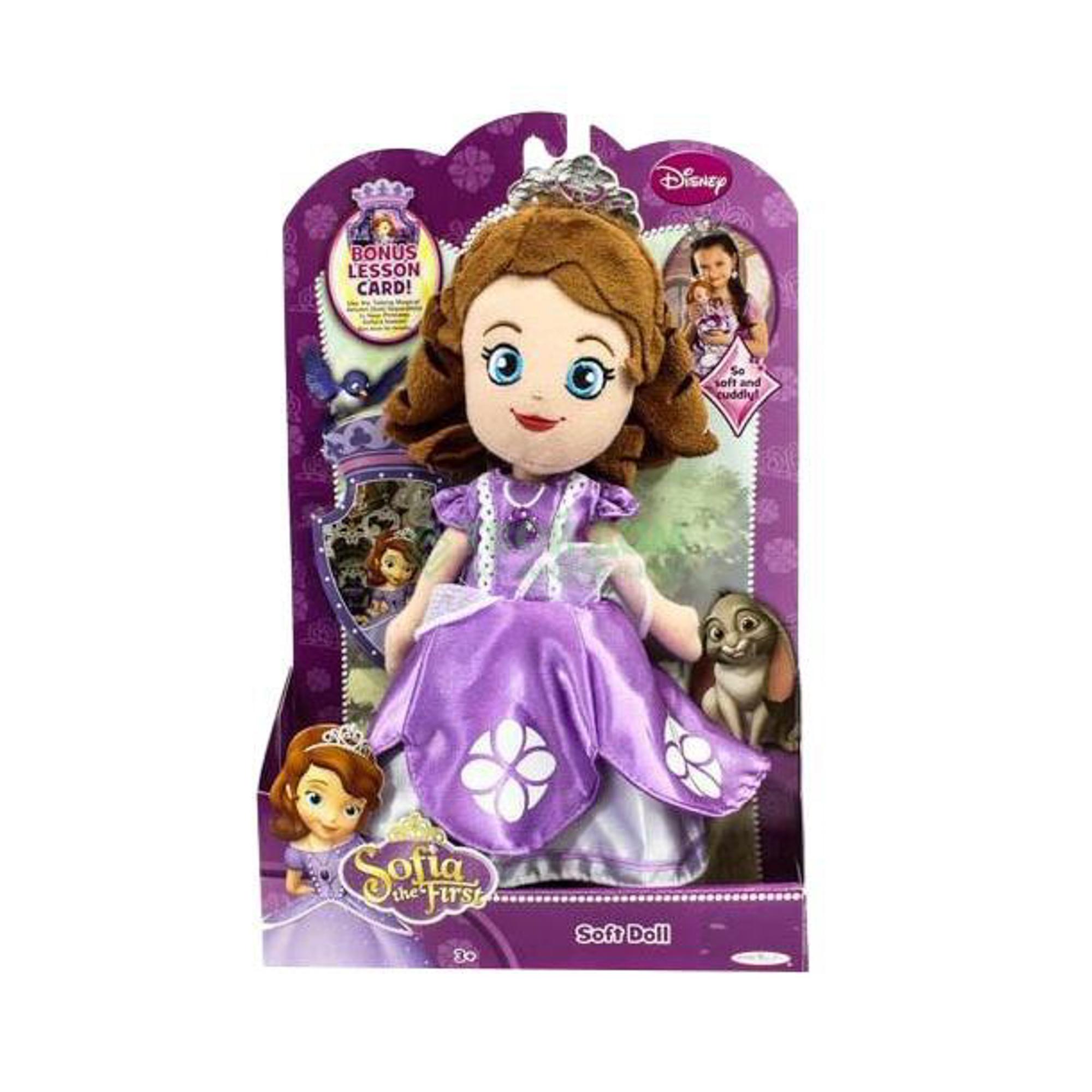 CDI Плюшевая кукла Принцесса София 20 см +карточка фото