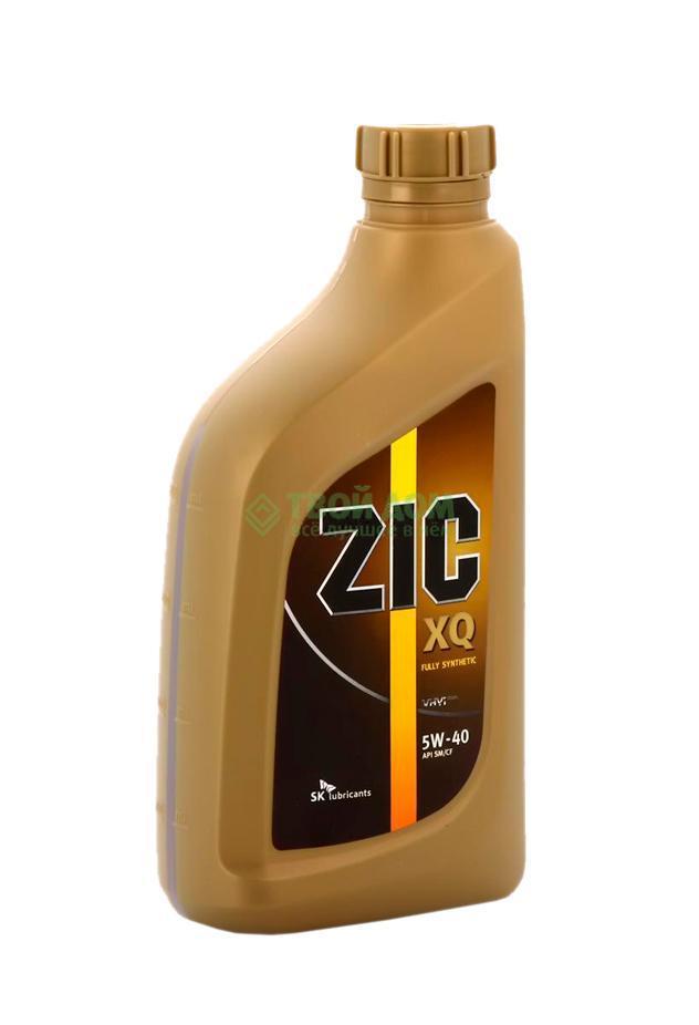 Моторное масло Zic Масло моторное синтетическое xq 5w40 sm/cf 1л (128-034)