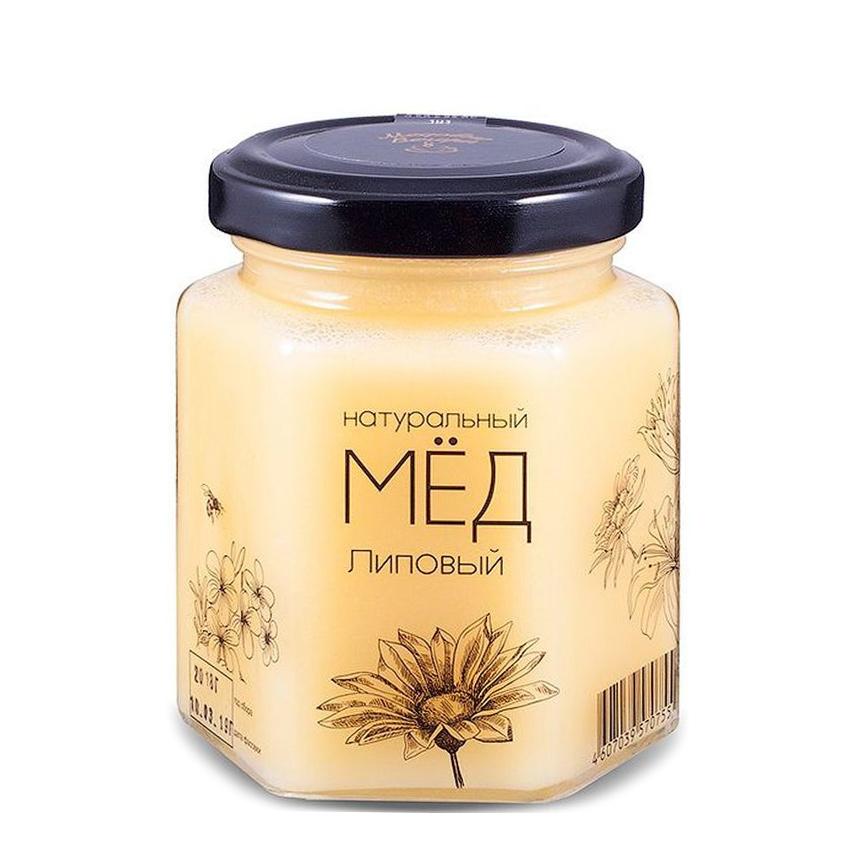 Мед натуральный Медовые вечера Липовый 250 г