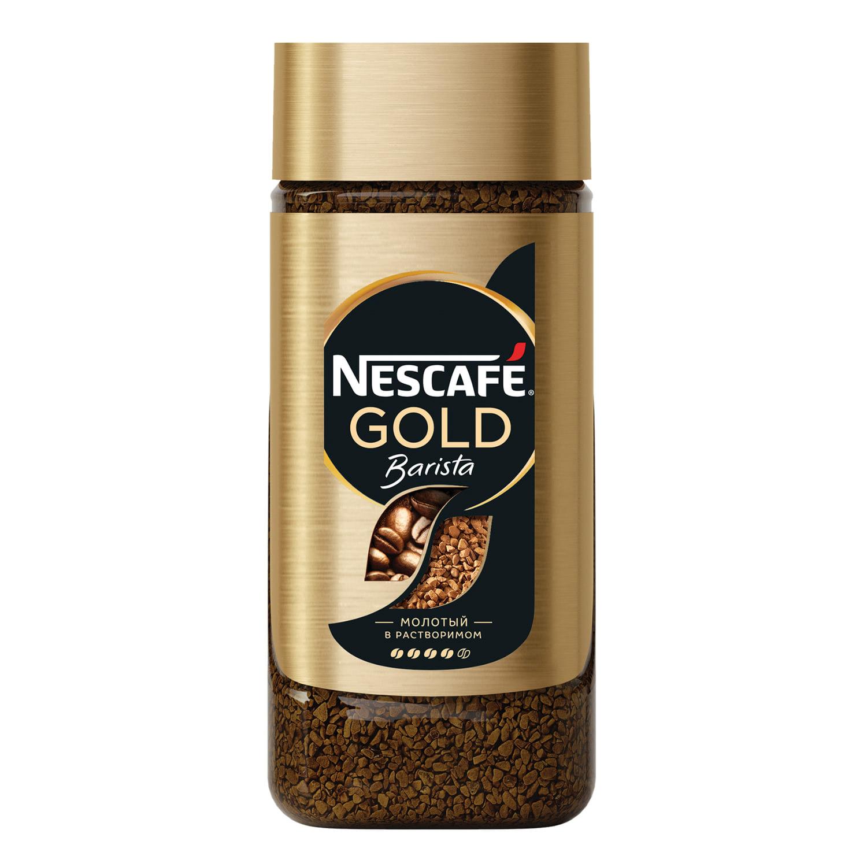 Кофе растворимый Nescafe Gold Barista 85 г фото
