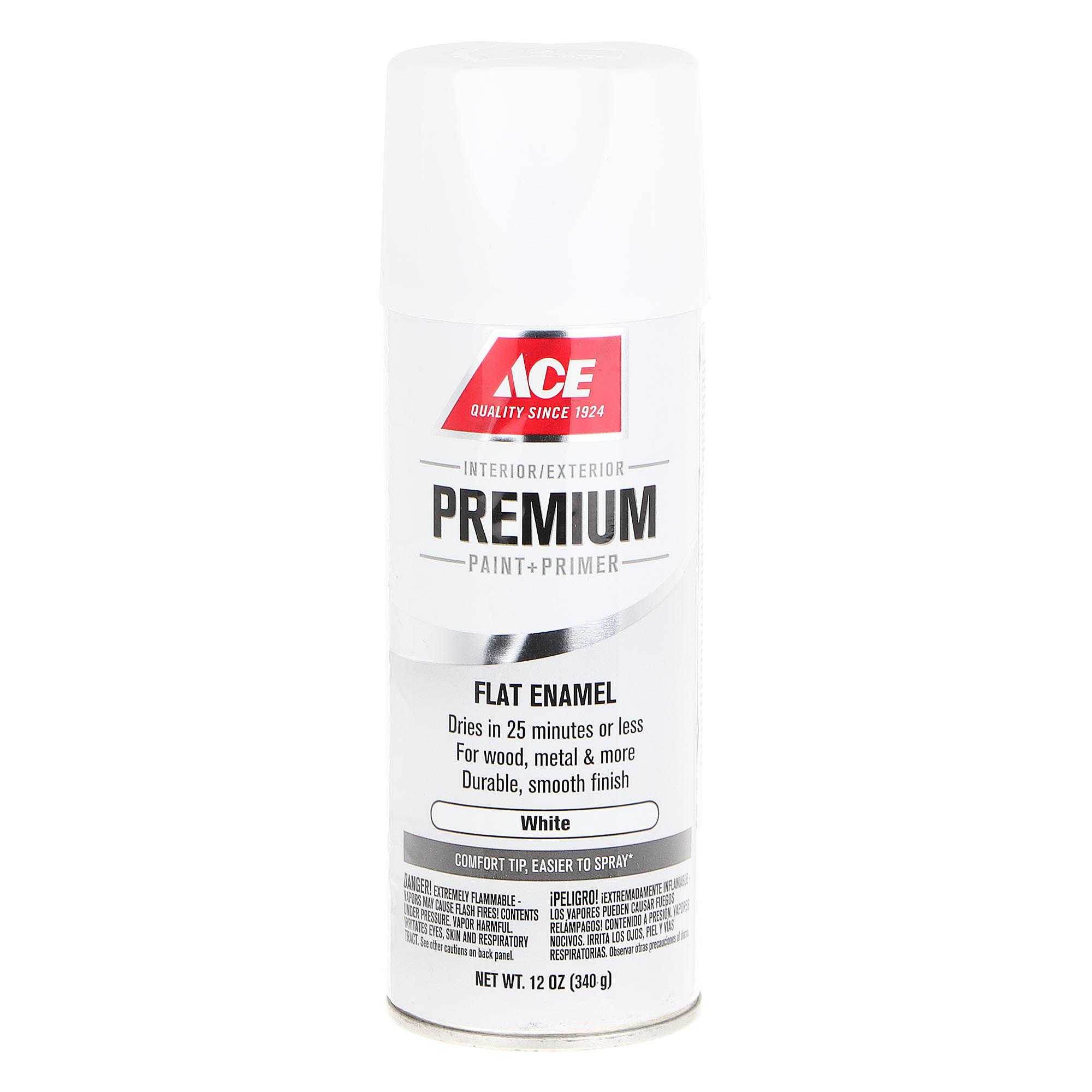 Краска аэрозольная Ace Hardware Premium White 0,355 л