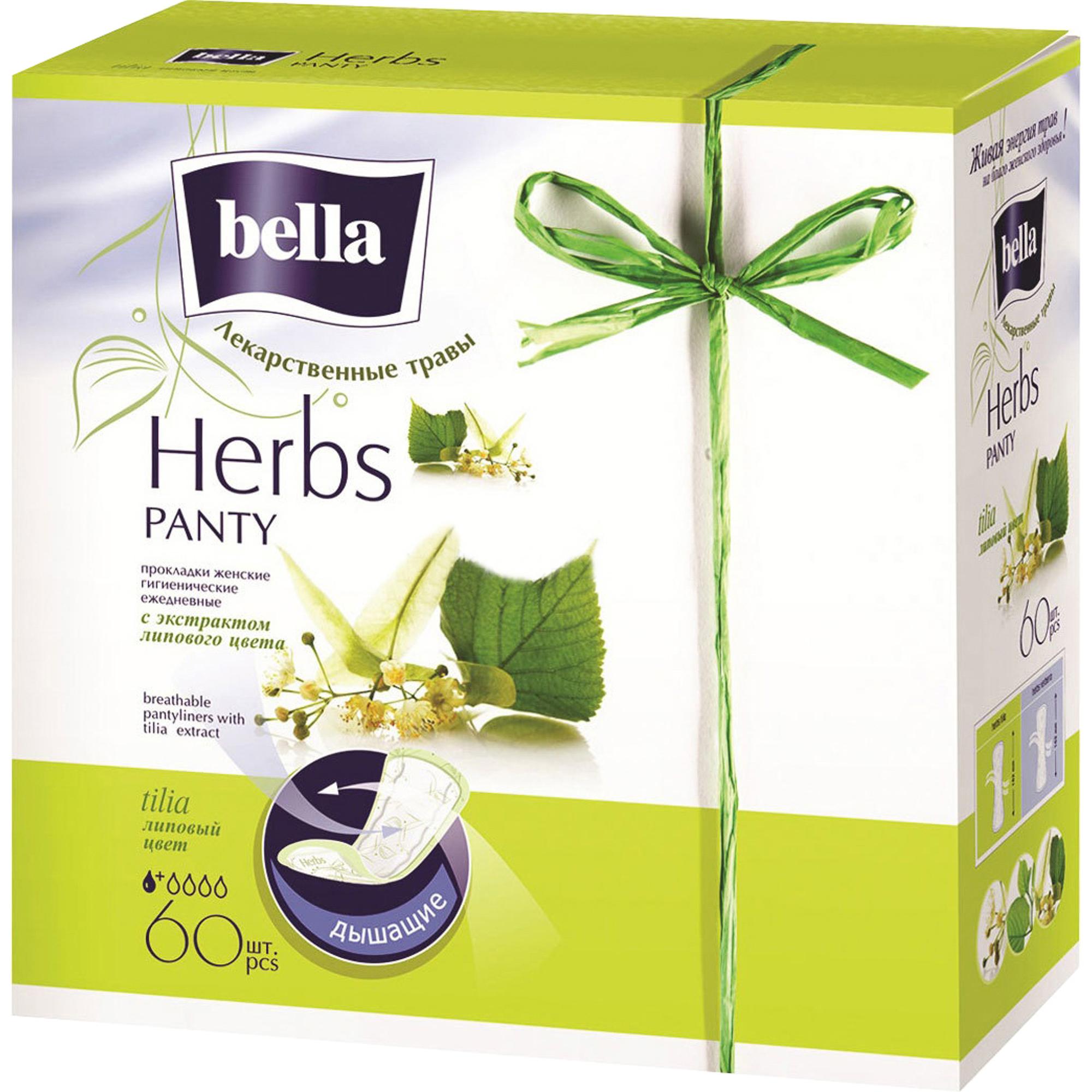 Прокладки Bella Panty Soft Tilia 60 шт.